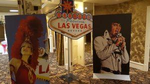 Las Vegas themed party props